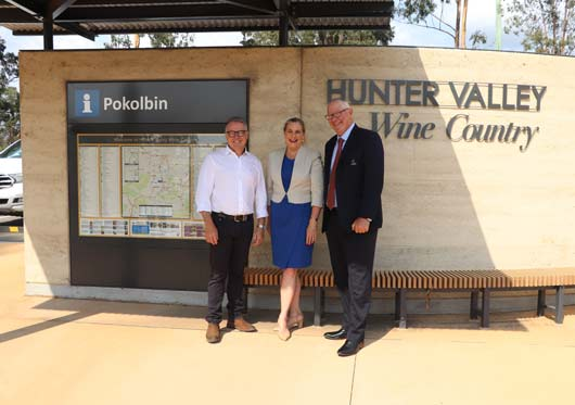 Hunter Valley Wine Country Tourism Signage