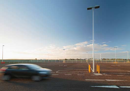 Newcastle Airport Car Park