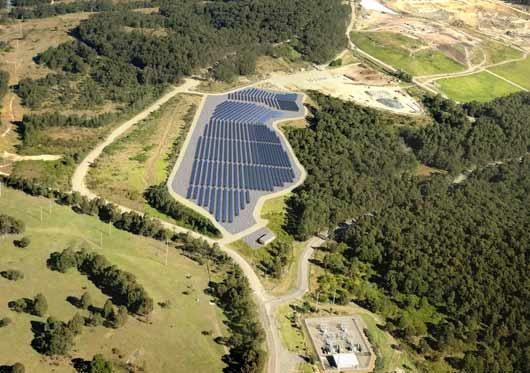 Newcastle Solar Farm courtesy NCC