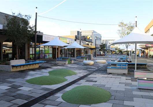 revamped pearson street mall charlestown