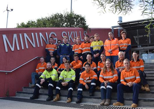 2021 mining skills program apprentices